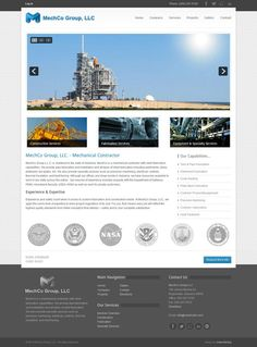 MechCo Group, LLC #webdesign by webunderdog. Built on Joomla 2.5 #business #corporate llc webdesign