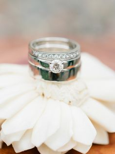 Rings from Rustic Vintage-Inspired Wedding by 2 Brides Photography   Two Bright Lights :: Blog