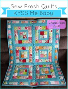 Charm Pack Baby Quilt - Español - Instructables.com
