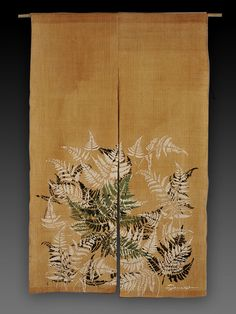 Masamichi Terada: Kakishibu   柿渋  Japanese art of dyeing with persimmon tannin
