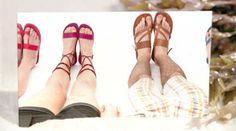 "Sandali estate 2014 per uomo e donna firmati ""Sandali Shop Ostuni"" su www.sandalishop.it :-)"