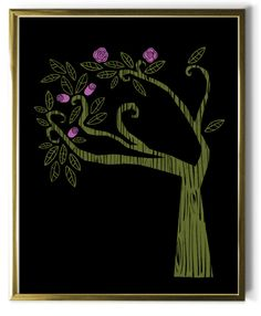 BabyLit TREE wall print (from Wuthering Heights).