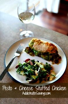 Pesto & Cheese Stuffed Chicken Recipe