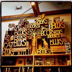 Cool display - Skylight Books.