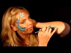Shark Face Painting  http://www.youtube.com/watch?v=oY82ukehZW8=related