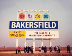 Bakersfield, California..