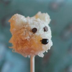 teddy bear cake pop