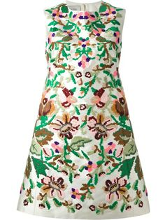 VALENTINO A-Line Floral Embroidered Dress - what to do with that spare £4,000 you've got lying around...