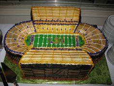 Tiger Stadium groom's cake.