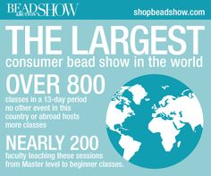 25 days until the Bead&Button show! www.shopbeadshow.com