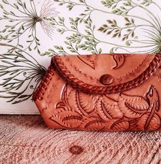 Vintage Bohemian Leather Pouch
