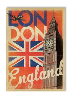 Joel Anderson Prints London Flag Gallery Print
