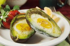 There are some foods in life that one simply must try...this is one of them - Baked Eggs & Avocado. Hello flavor!!!