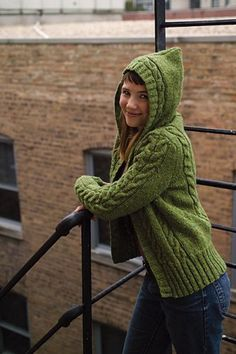 Central park hoodie - I knit one of these