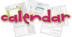 Great Common Core Calendar Ideas
