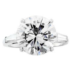 4.75ct Round Brilliant Diamond Ring - 1st dibs.