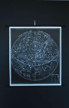 constellation star chart