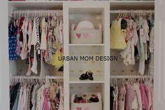 Project Nursery - Gold Heart Closet Wallpaper
