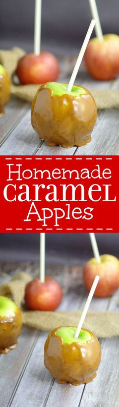 Homemade Taffy Apple