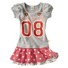 Harajuku Mini for Target® Toddler Girls Jersey Dress - Grey.Opens in a new window