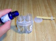 How to refill scented plugins. [DIY Essential oil plugins, here I come... - EL]