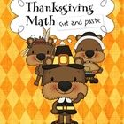 A fun Thanksgiving math craftivity! The children learn to count while they are coloring, cutting and pasting Thanksgiving images. Each worksheet wi...
