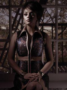 Mila Kunis for W Magazine August 2014