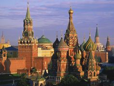 St. Basils and the Kremlin, Moscow