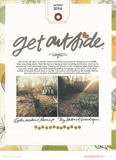 Get Outside by melanie louette at @Studio_Calico #SCcamelot