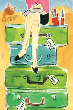 Notebooks and Suitcases #yankinaustralia #travel
