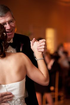 Inspiring father/daughter wedding moments | Kristin Griffin Photography