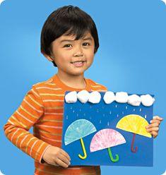 rainy day umbrella craft