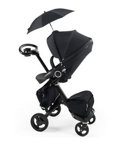 Stokke Xplory True Black –Luxe & Limited! Available at Neiman Marcus