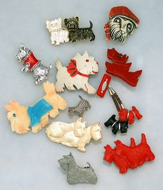 Scottie Dog Pin Collection