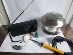 **DIY** How To Make A Solar Powered Radio For Only 5$ - Living Green And Frugally
