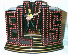 Elvis '68 Comeback Cookie Jar