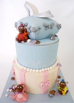 cupcak, princess, idea, cinderella mice, disney birthday cake, cinderella cake, disney cake, birthday cakes, parti