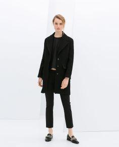 Image 1 of BLAZER COAT from Zara
