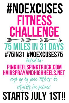 july challenge fitness, walk, fit challeng, fitness challenges