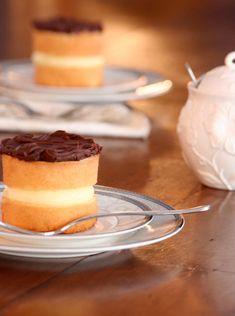 Mini Boston Cream Pie