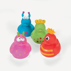 Monster Rubber Duckies - OrientalTrading.com 6.00 per dozen
