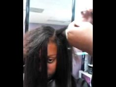 How to do a Quick weave with leave out