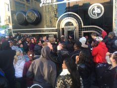 Kevin Hart and Ice Cube hit Philly. They hit Jim's Steaks to give away free cheesesteaks. And everyone showed up.