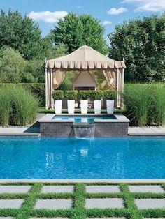 Gorgeous #pool and #cabana
