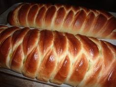 King Arther Flour's Braided Lemon Bread Fresh Out of the Oven