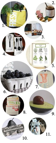 Handmade Gifts for Foodies!