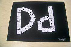 Letter D (dominoes)