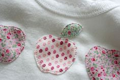 Cute appliquéd baby-gro: nana company