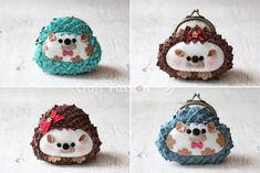 DIY Hedgehog Coin Purses - FREE Sewing Pattern and Tutorial