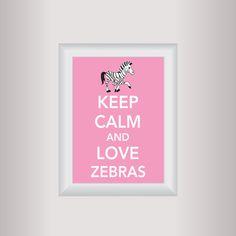 idea, hello kitty decorations, art prints, keep calm, zebra decorations, kitti decor, decor art